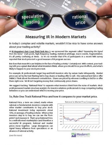 Investor relations white paper
