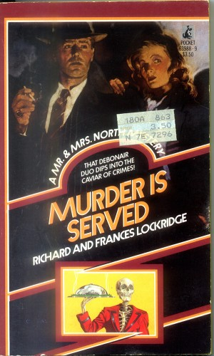 Book cover: Murder is served