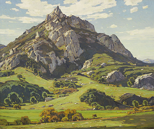 """Where Nature's God Hath Wrought"" by William Wendt"