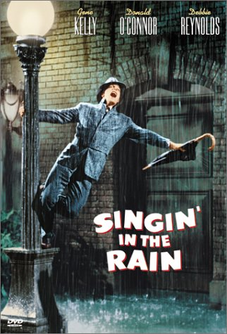 singing in the rain DVD cover