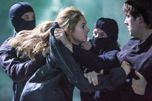 Divergent - Tris fight