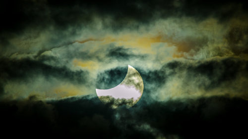 November 2012 solar eclipse by James Niland